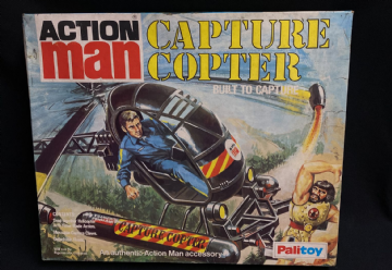 ACTION MAN CAPTURE COPTER - MINT BRAND NEW OLD SHOP STOCK (ref5)